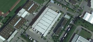 Erweiterung Briefzentrum, Deutsche Post Weingarten, Bildquelle: Google Earth
