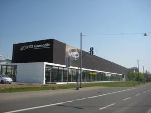Rohbau Autohaus Wiesbaden