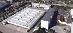 Erweiterung Briefzentrum, Deutsche Post Karlsruhe, Bildquelle: Google Earth