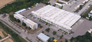 Erweiterung Briefzentrum, Deutsche Post Heilbronn, Bildquelle: Google Earth